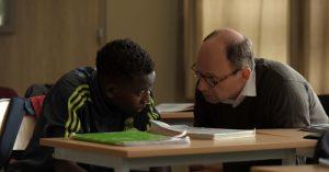 Seydou et François, dans Les grands esprits