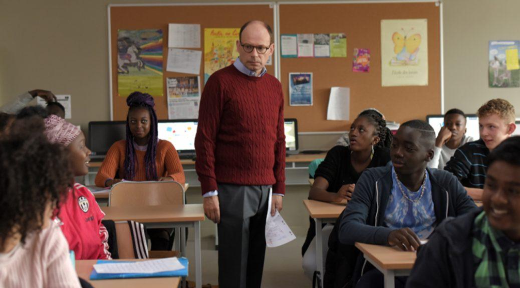 François, en classe, dans Les grands esprits