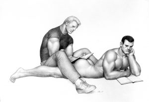 Tom of Finland dessin