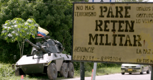 Occupation militaire en Colombie, dans Tomorrow's Power