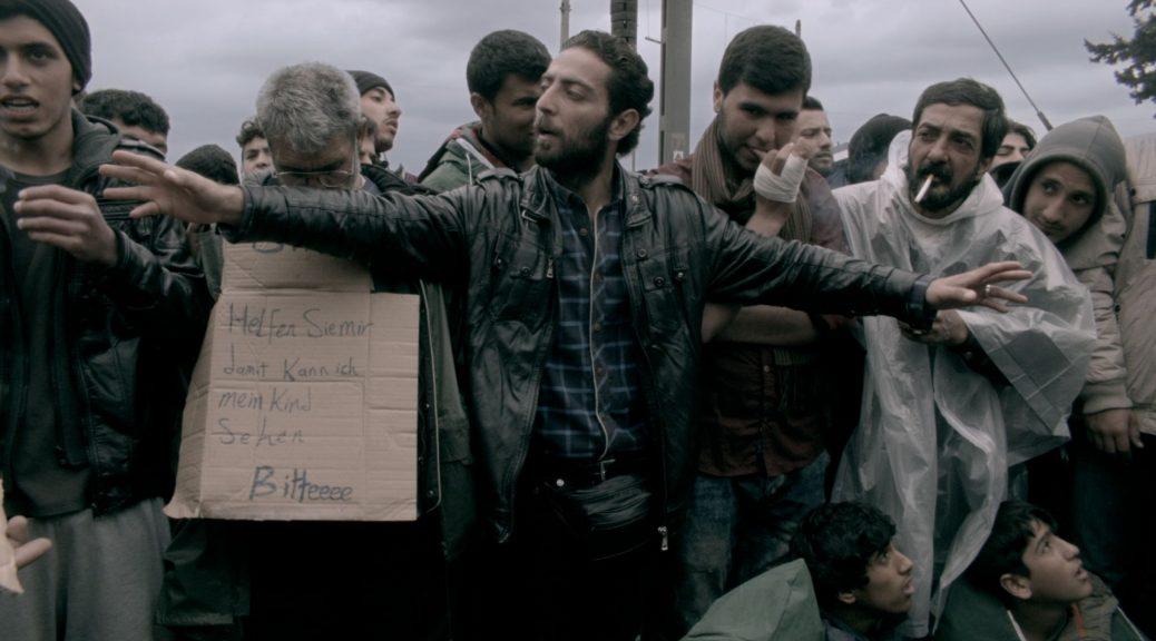 Un groupe de réfugiés, dans Des spectres hantent l'Europe