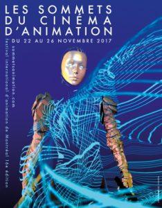 Affiche Les Sommets du cinéma d'animation 2017