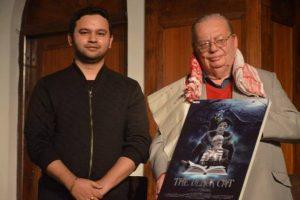 The Black Cat - le réalisateur Bhargav Saikia et l'auteur Ruskin Bond