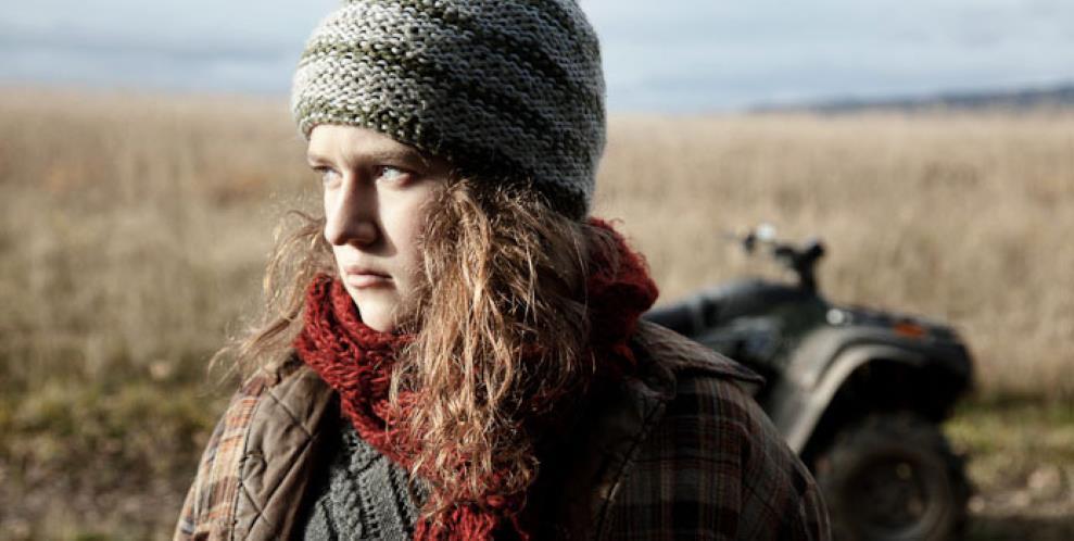 Une jeune fille – De vent et d'eau