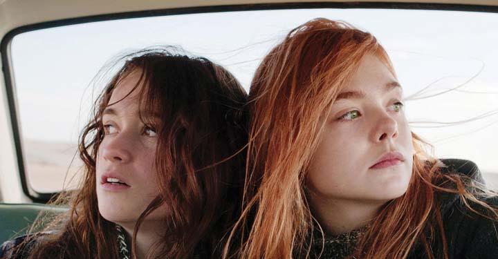 Ginger ensemble dans une voiture