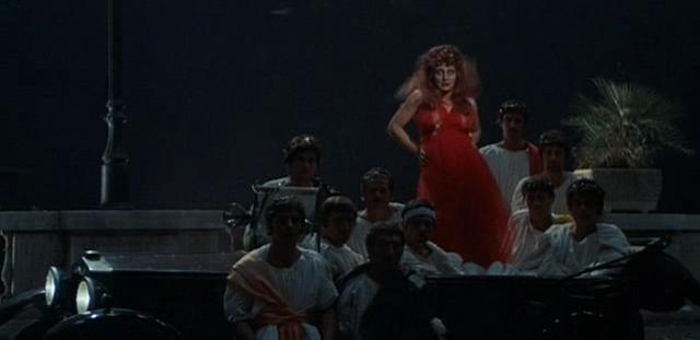 Scène du film Roma de Fellini