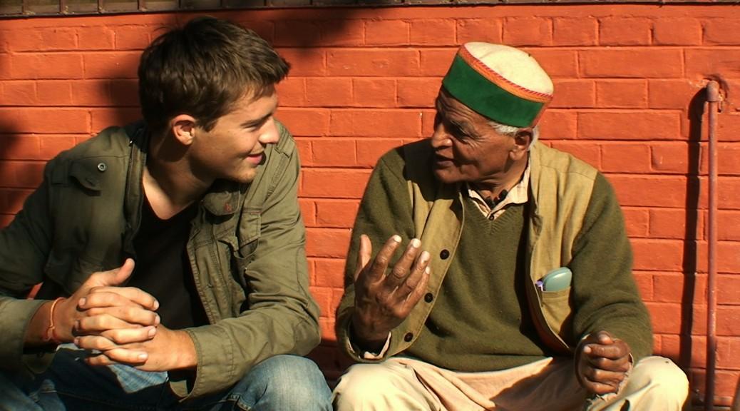Marc et Satish Kumar en conversation