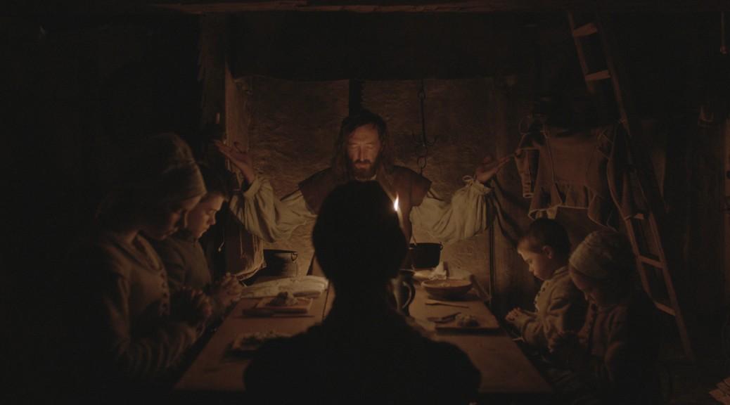 The witch - scène avec toute la famille à table.