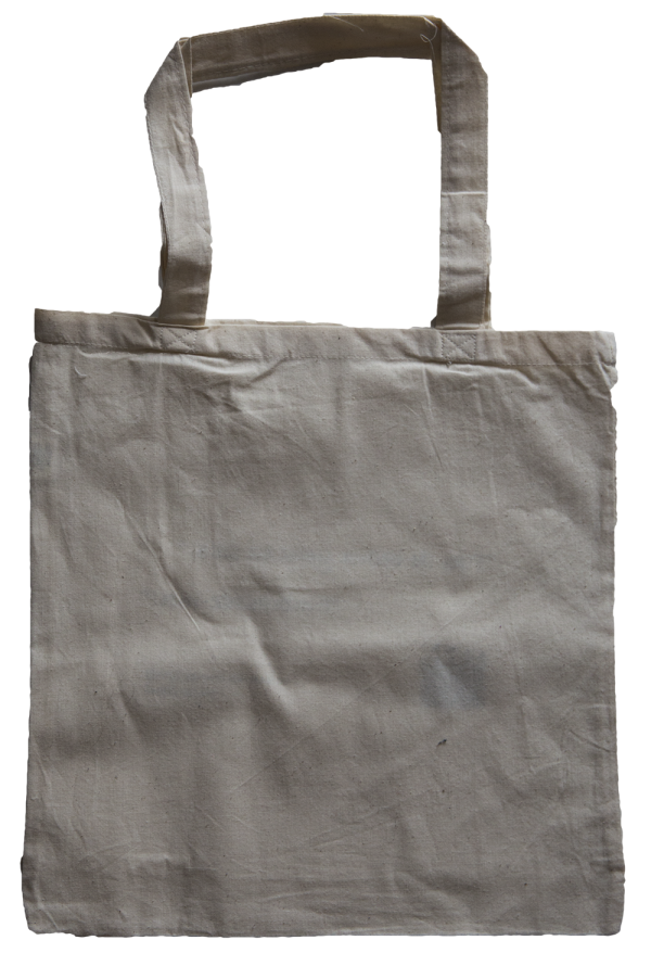 Sac réutilisable en coton - dos : citation
