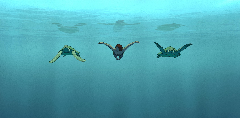 La tortue rouge – D'une grande douceur