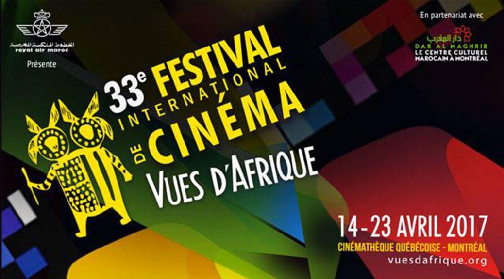 Festival international de cinéma Vues d'Afrique, 33e édition