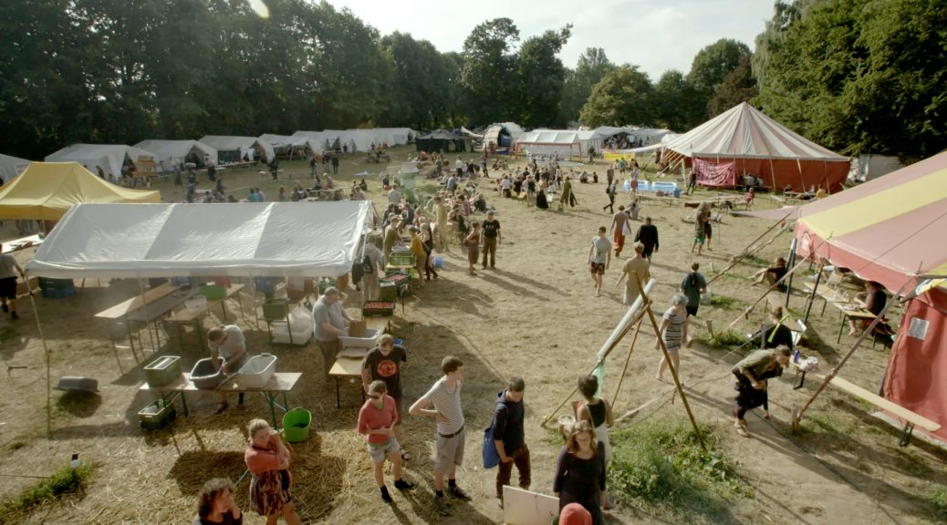 Climate Camp à Rheinland, dans Tomorrow's Power