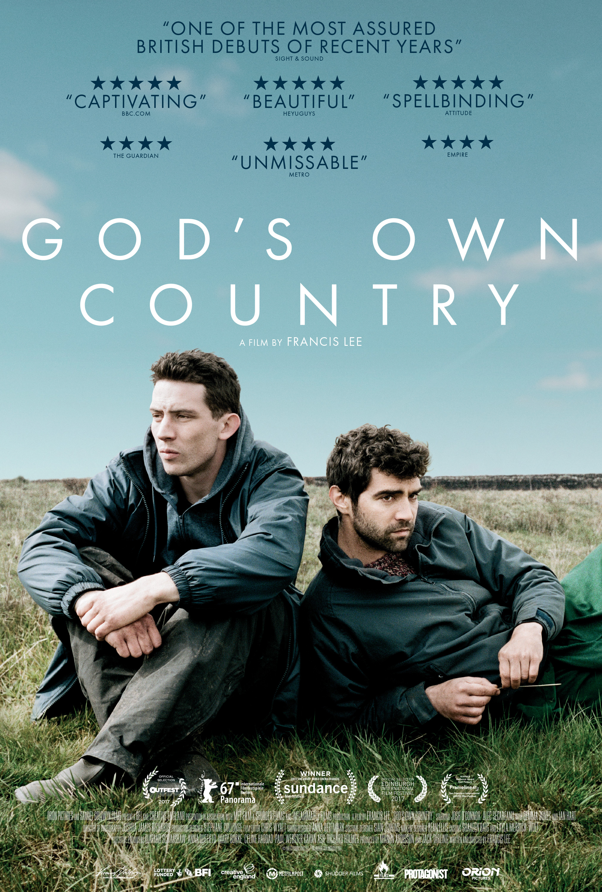 "Affiche de ""God's Own Country"""
