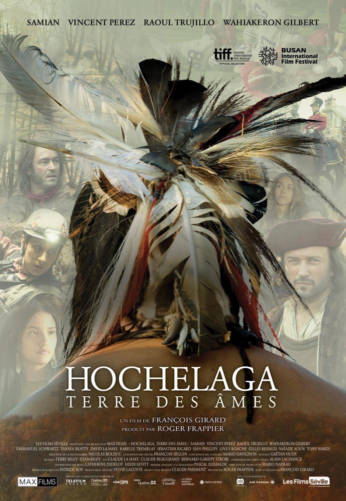 """Affiche de """"Hochelaga - Terre des âmes"""""""