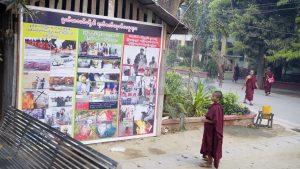 Le vénérable W - situation politique en Birmanie