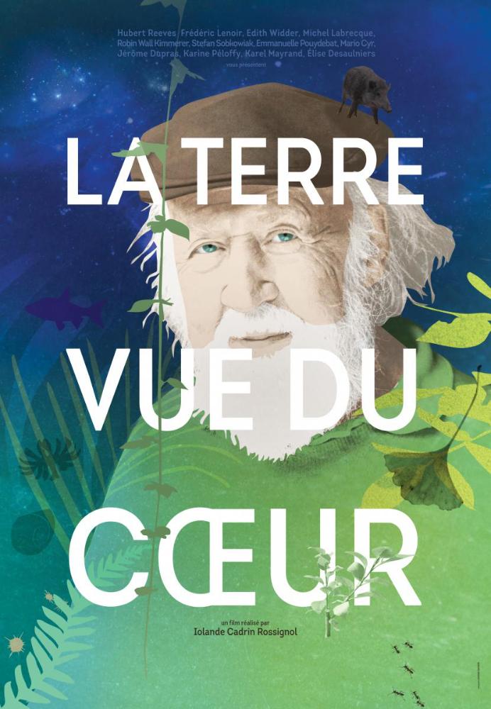 """Affiche de """"La terre vue du cœur"""""""