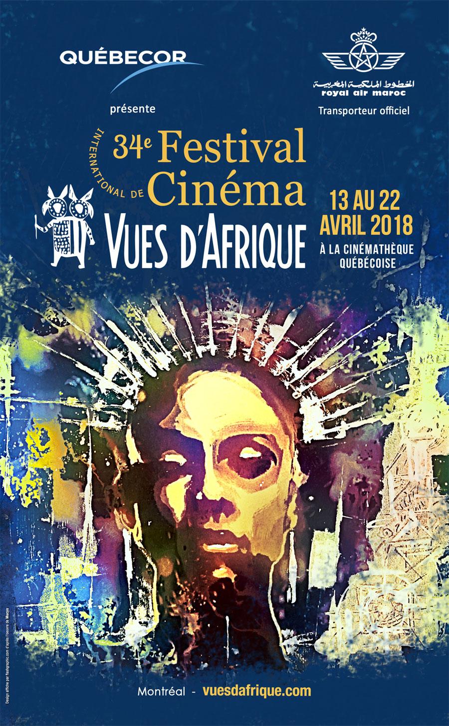 Affiche du Festival Vues d'Afrique 2018
