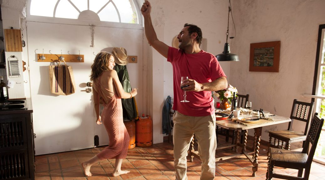 Plonger - le couple danse
