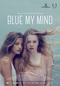 Blue My Mind - affiche