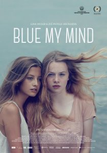 Blue My Mind - affiche