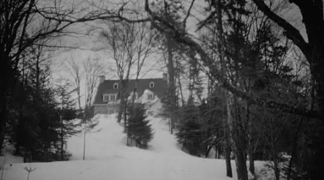 Le manoir familial, dans le film Saint-Denys Garneau (ONF) de Louis Portugais