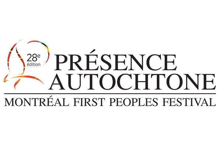 """Affiche de """"Présence autochtone 2018"""""""
