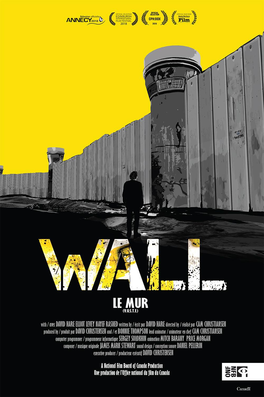 """Affiche de """"Wall (Le mur)"""""""