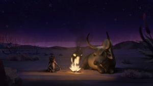 Liyana - dans le désert