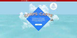 Corps à la carte - web