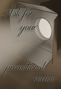 Promotional reviews footer ad