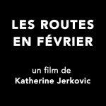 Routes en février - poster