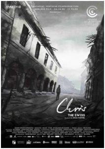 Chris the Swiss - affiche