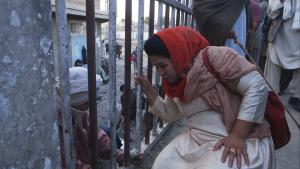 Laila at the Bridge - Laila Haidari