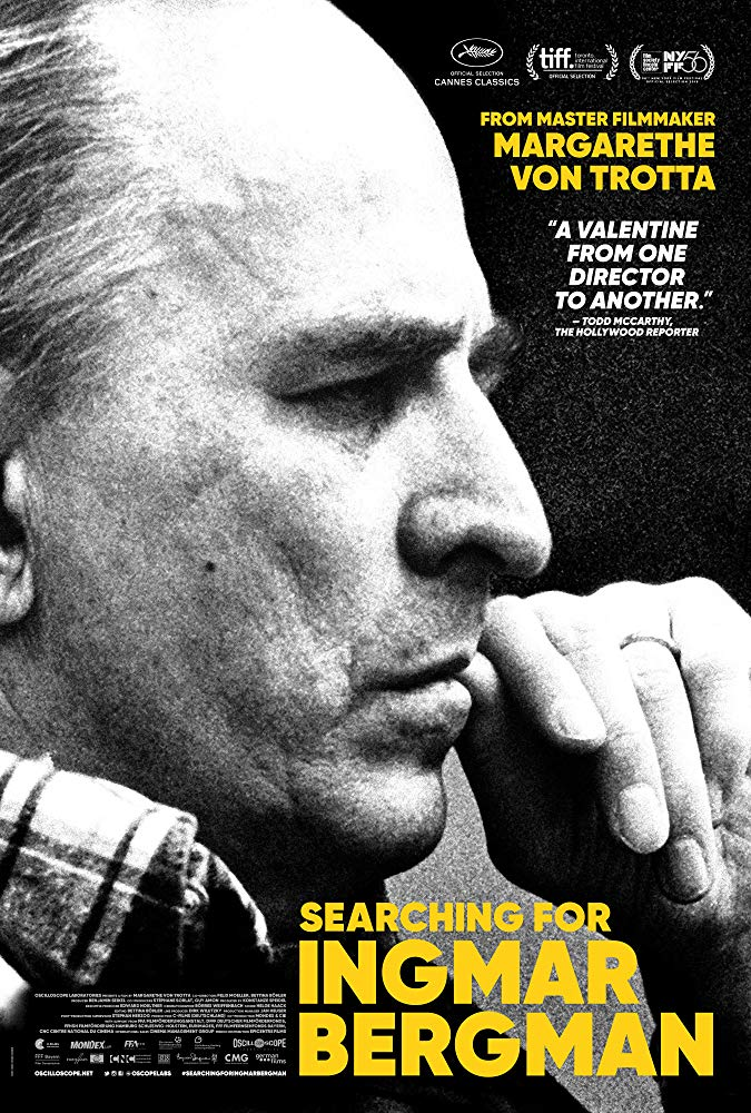 "Affiche de ""Searching for Ingmar Bergman"""