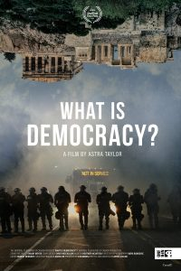 What is democracy - affiche