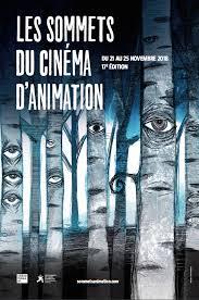 Sommets du cinéma d'animation 2018 - affiche