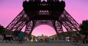 Dilili à Paris - tour Eiffel