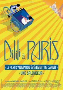 Dilili à Paris - affiche
