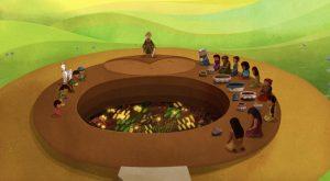 Pachamama - cérémonie d'offrandes