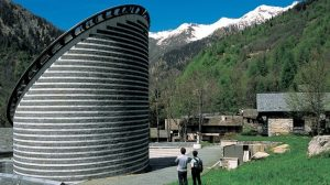 Mario Botta - Église Saint-Jean-Baptiste, Mogno, Suisse, 1996