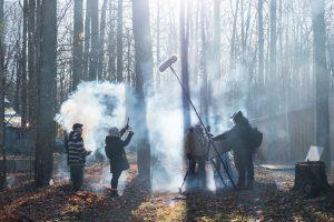 Tu es poussière tournage Photo de David Afriat
