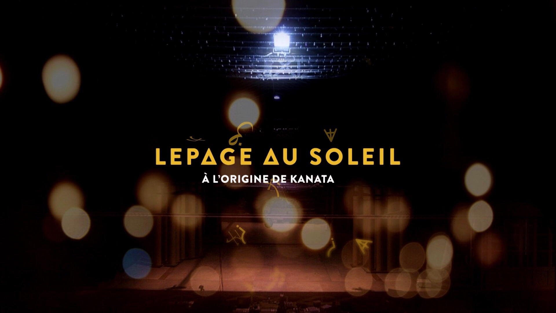 Lepage au soleil : À l'origine de Kanata – Appropriation