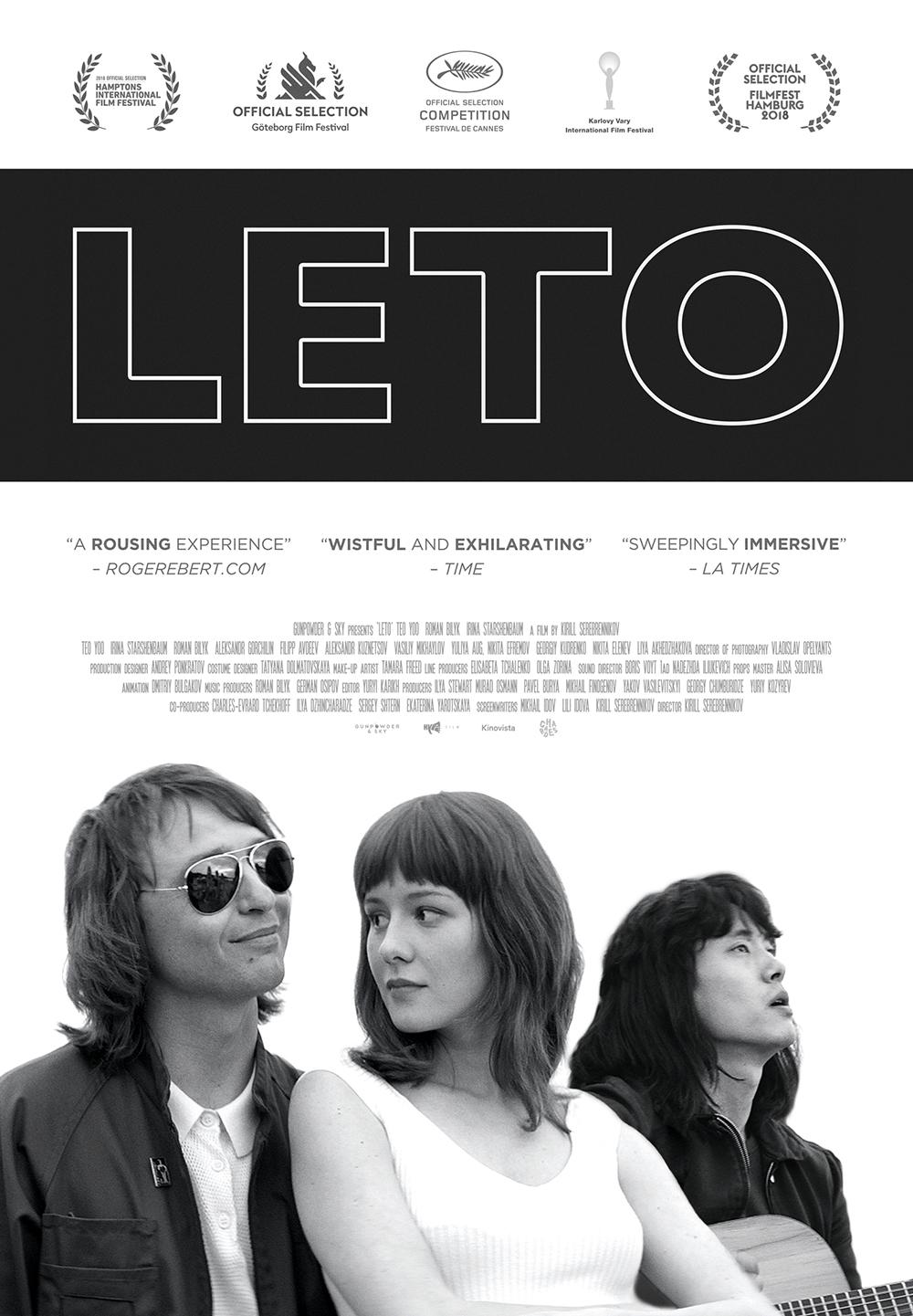 """Affiche de """"Leto"""""""
