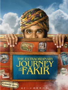 Extraordinary journey of the fakir - poster