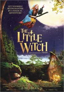 The little witch - poster