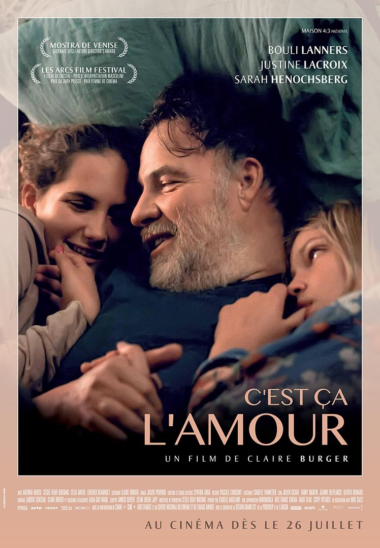 """Affiche de """"C'est ça l'amour"""""""