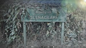 RAINY IN GLENAGEARY - poster