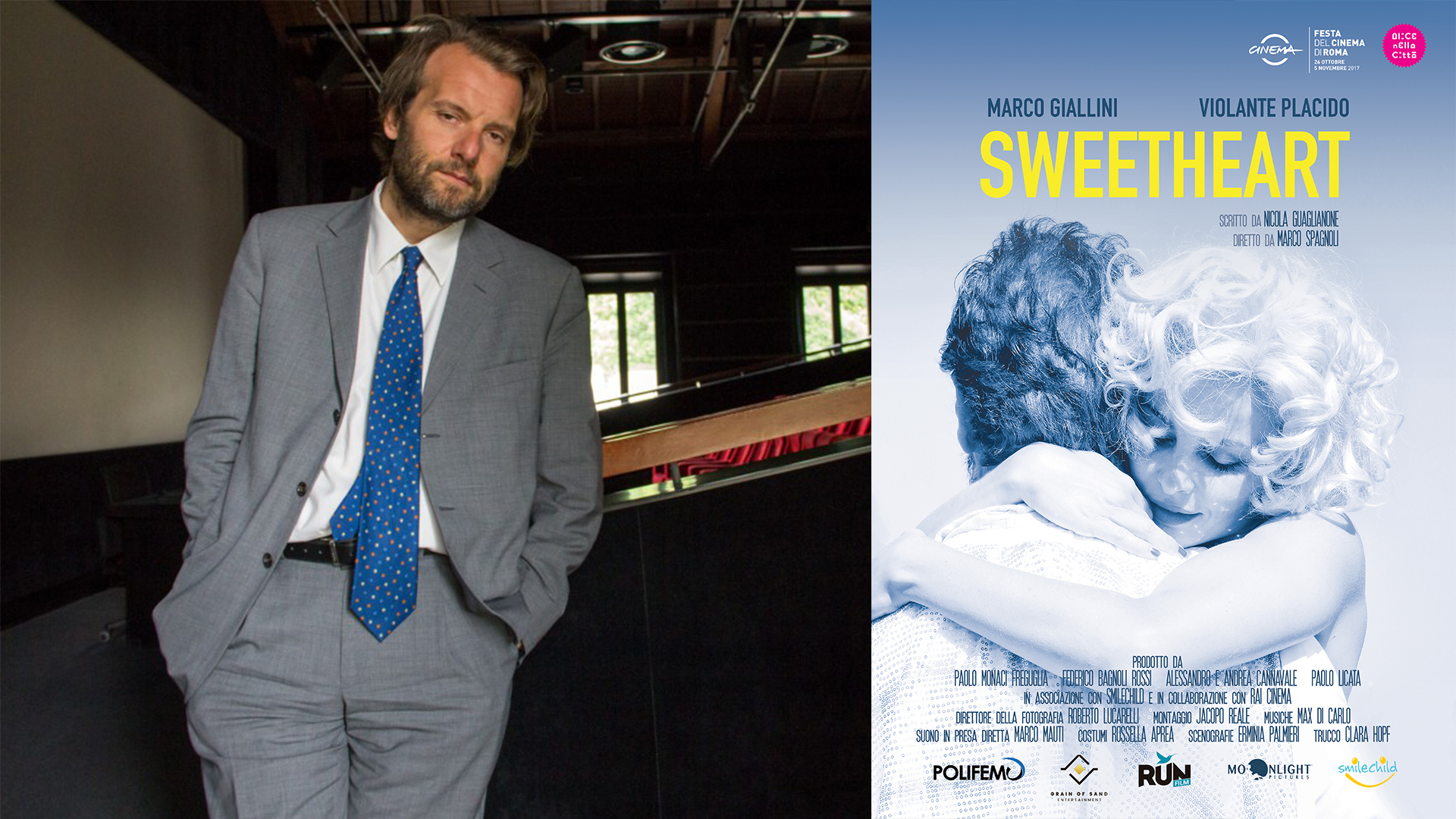 Interview with Marco Spagnoli, Director of Sweetheart