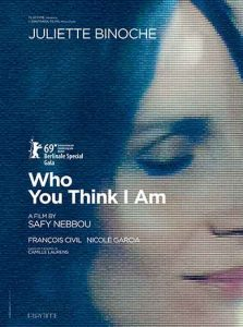 Who you think I am - poster