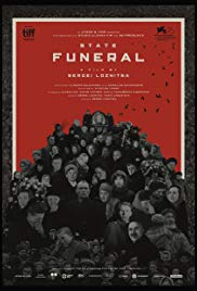 State funeral - poster
